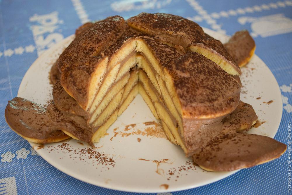 Торт с вишнями и сметанным кремом рецепт с фото пошагово 50